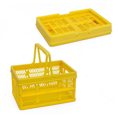 तह रसोई खाना फल रोटी कटलरी फोल्डिंग प्लास्टिक टोकरी