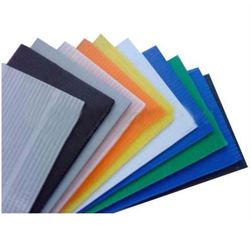 नालीदार प्लास्टिक मेल ट्रे polypropylene कोर बांसुरी चादर मंडल चादरs